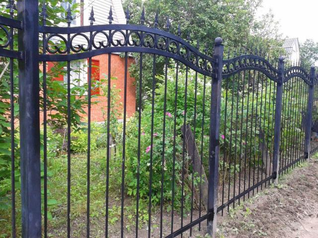 Купить металлический забор в Киеве